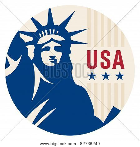 Travel Sticker Usa