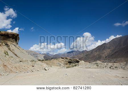 Himalaya Landscape Of Summer