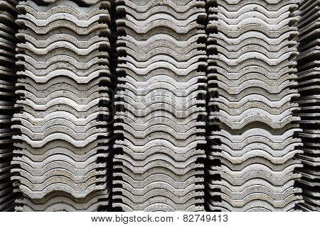 Stacks Of Corrugated Roof#1