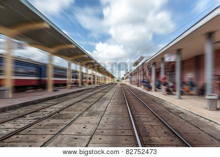 Vietnam Hue's railway station