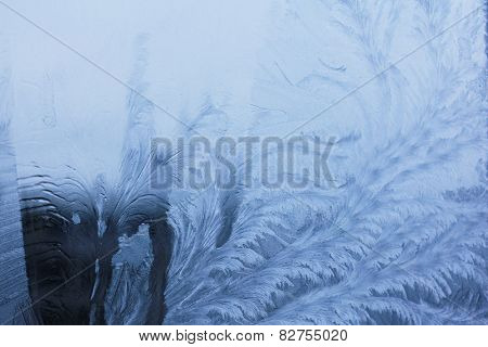 Background of melting ice, closeup.