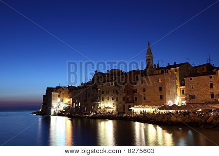 Rovinj At Dusk, Croatia
