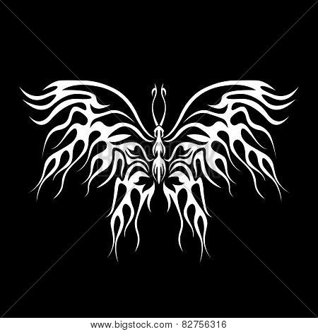 Flaming butterfly
