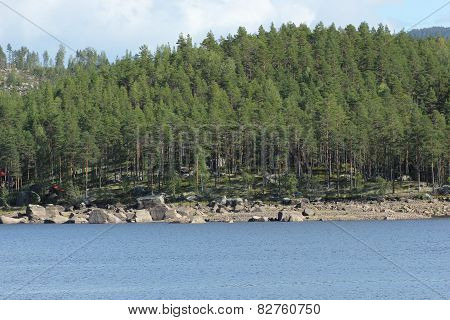 Hoeljessjoen In Sweden