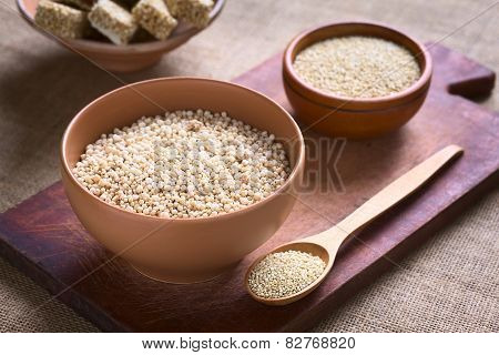 Popped Quinoa Cereal