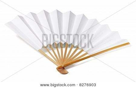 Traditional japanese fan