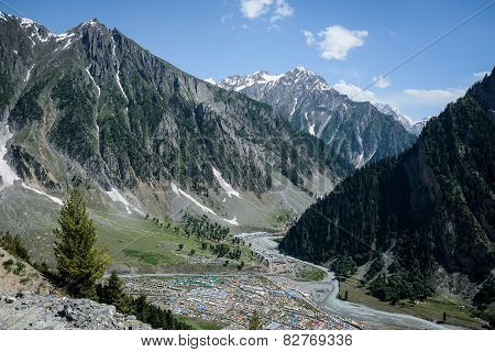 Himalayas Landscape In Summer