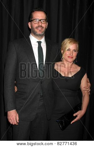 LOS ANGELES - JAN 10:  Eric White, Patricia Arquette at the 40th Annual Los Angeles Film Critics Association Awards at a Intercontinental Century City on January 10, 2015 in Century City, CA