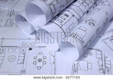 Blueprints For Home,office