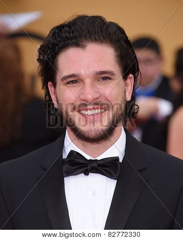 LOS ANGELES - JAN 25:  Kit Harrington arrives to the 21st Annual Screen Actors Guild Awards  on January 25, 2015 in Los Angeles, CA