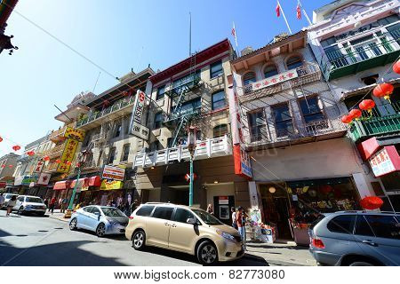 San Francisco Chinatown, California