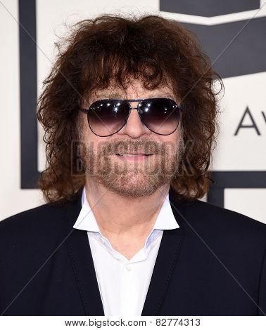 LOS ANGELES - FEB 08:  Jeff Lynne arrives to the Grammy Awards 2015  on February 8, 2015 in Los Angeles, CA