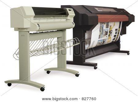 large format ink-jet printers
