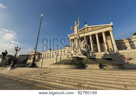 Building Of Austrian Parliament