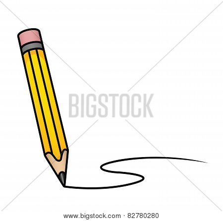 Cartoon Pencil