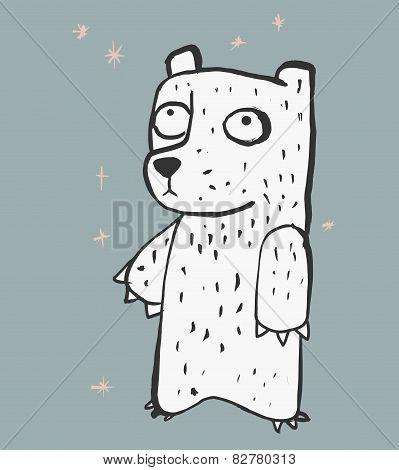 Shy bear b