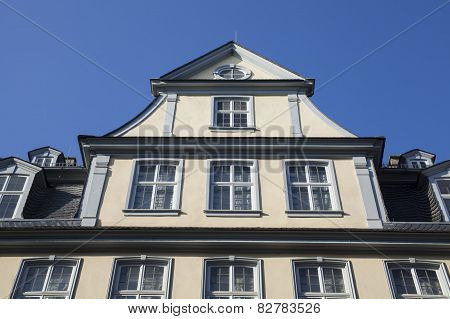 Goethe house in Frankfurt