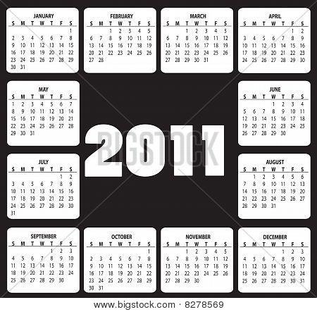 Calendar For 2011