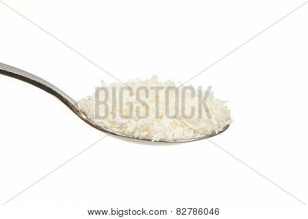 Coconut Flour On A Teaspoon