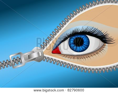 Eye Zipper