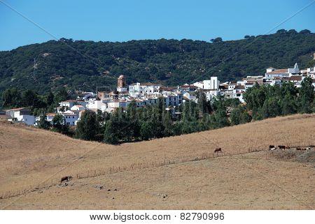 White village, Jimena de la Frontera.