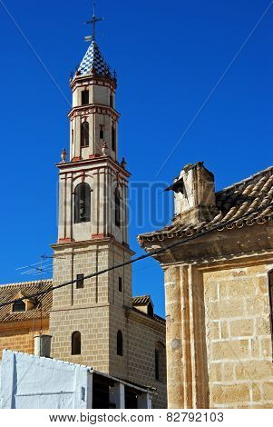 Church bell tower, Osuna.