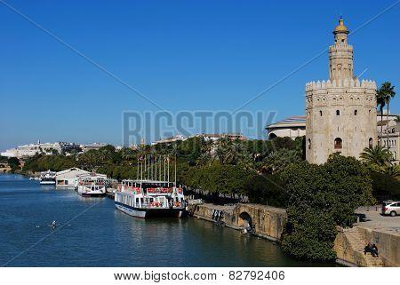 Golden tower, Seville.