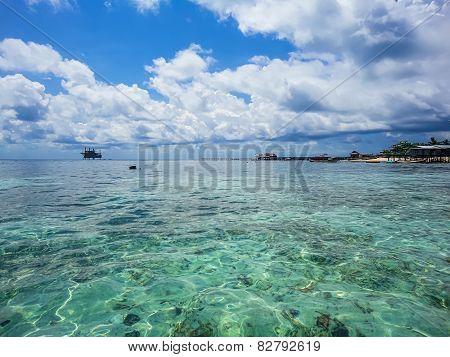 Mabul Island At Malaysia