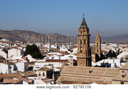 View of Antequera, Spain.