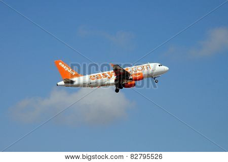 Easyjet Airbus A319.