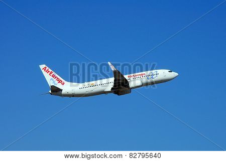 Air Europa Boeing 737-800.
