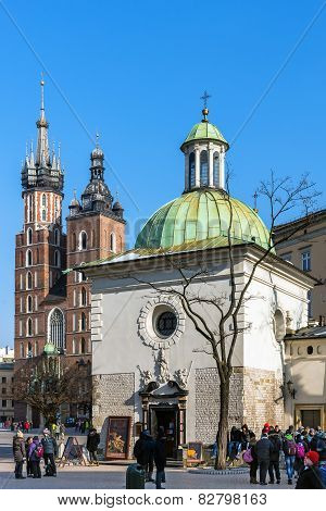 Churches in Krakow