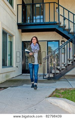 Dormitory living for the college student