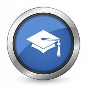 stock photo of toga  - education icon graduation sign  - JPG
