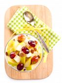 pic of serving tray  - Healthy breakfast  - JPG