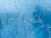 foto of frozen  - Frozen glass - JPG