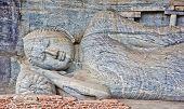 stock photo of polonnaruwa  - Gal Vihara - JPG