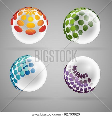 sphere transparent
