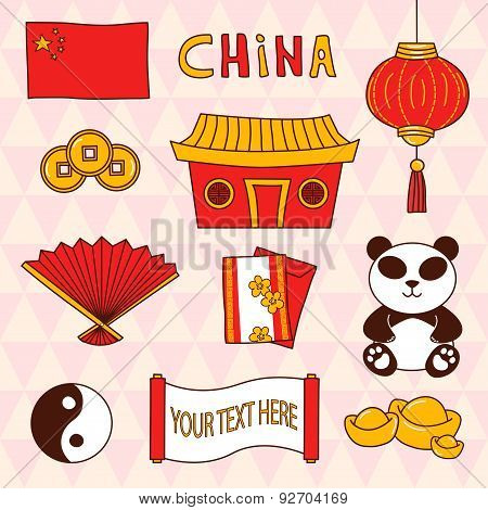 Cartoon China Set