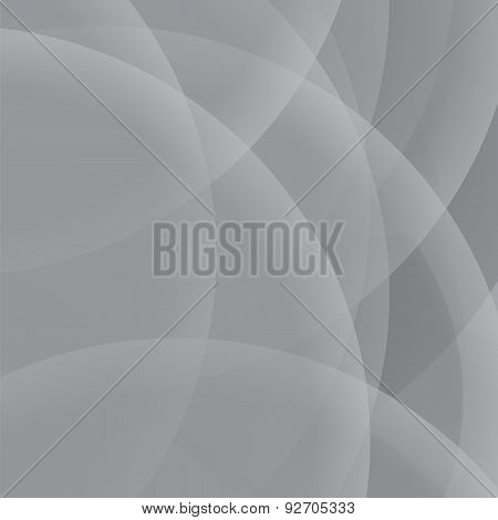 Grey Circle Background
