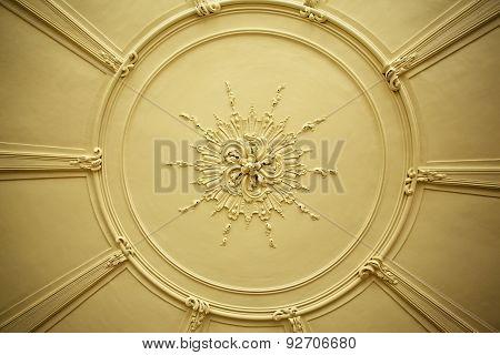Antique Plaster Ceiling Plate