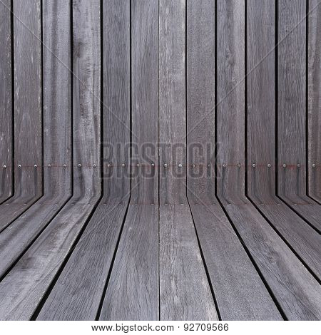 ole wood fence weathered background