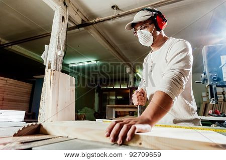 Carpenter and working machine