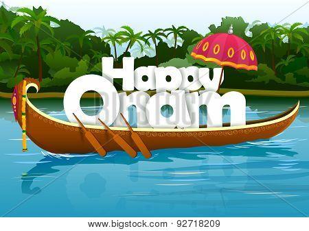 Happy Onam wallpaper background