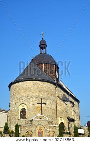 The Oldest Medieval Orthodox Church In Kamianets-podylskiy City, Ukraine