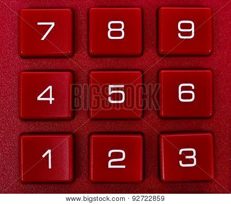 Number On Red Calculator