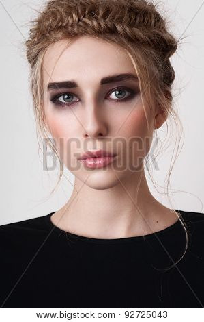 Girl With Smoky Eyes