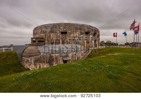 Batterie Todt bunker in Audinghen, France
