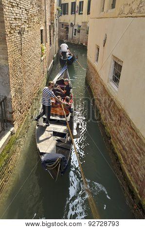 A Stroll By Gondola
