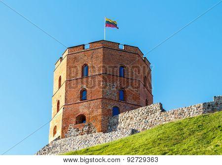Vilnius. Tower Gedemin.